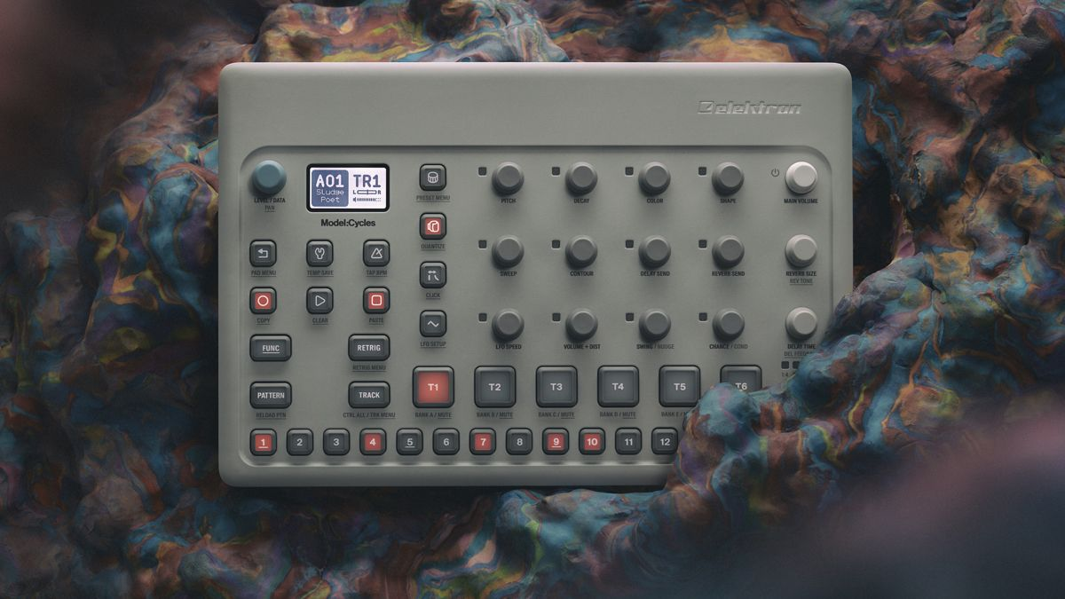 FIRST LOOK: Elektron unveils Model:Cycles, a 6-track FM synth groovebox