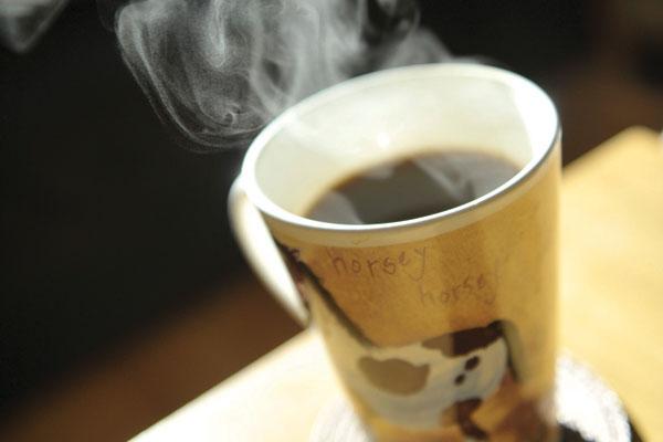 Train low, feel good (with caffeine)