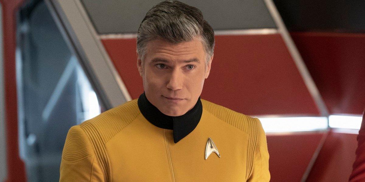 Star Trek Anson Mount Captain Pike CBS All Access