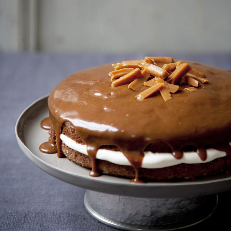 Sticky Date Cake with Salted Butter Caramel recipe-recipe ideas-new recipes-woman and home