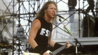 James Hetfield in 1987