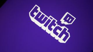 Twitch logo on mobile app