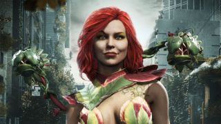 Poison Ivy from Injustice 2's mobile port.