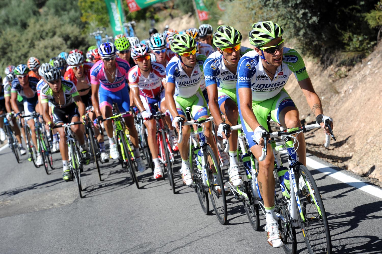 Liquigas, Vuelta a Espana 2011, stage five