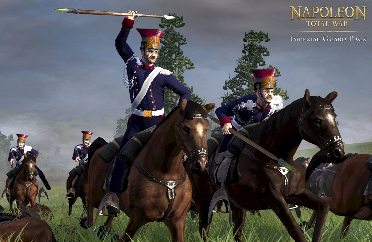 napoleon total war gets free imperial guard dlc