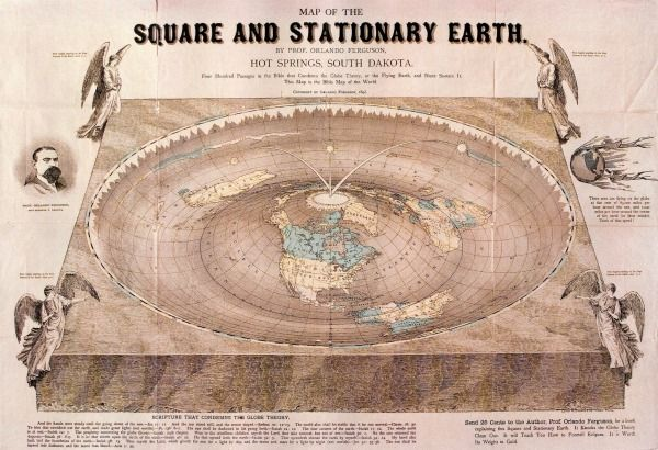 Ingenious Flat Earth Theory Revealed In Old Map Live Science