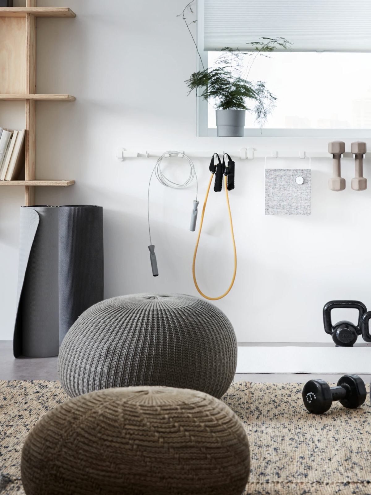 5 home gym ideas that will still work in your tiny apartment