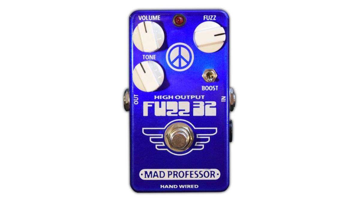 """Mad Professor's FUZZ32 is a hand-wired germanium fuzz """"without the shortcomings"""""""