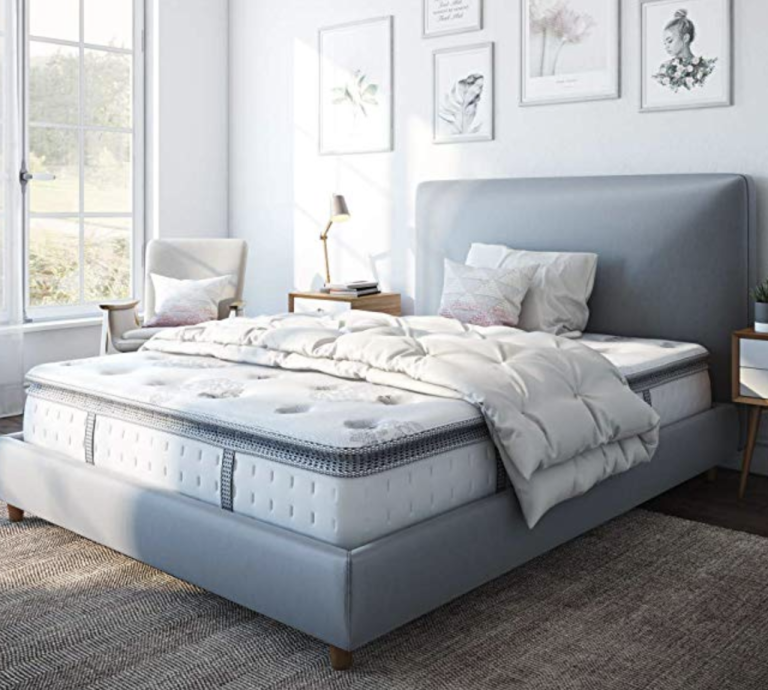 Mattress disposal: silentnight latex mattress lifestyle image