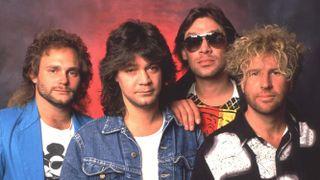 Hagar with Van Halen