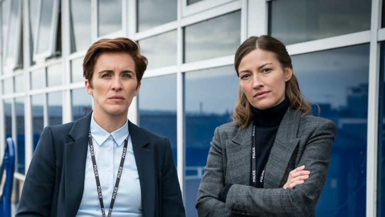 Line of Duty's Jo Davidson, Vicky McClure and Kelly MacDonald in BBC's Line of Duty