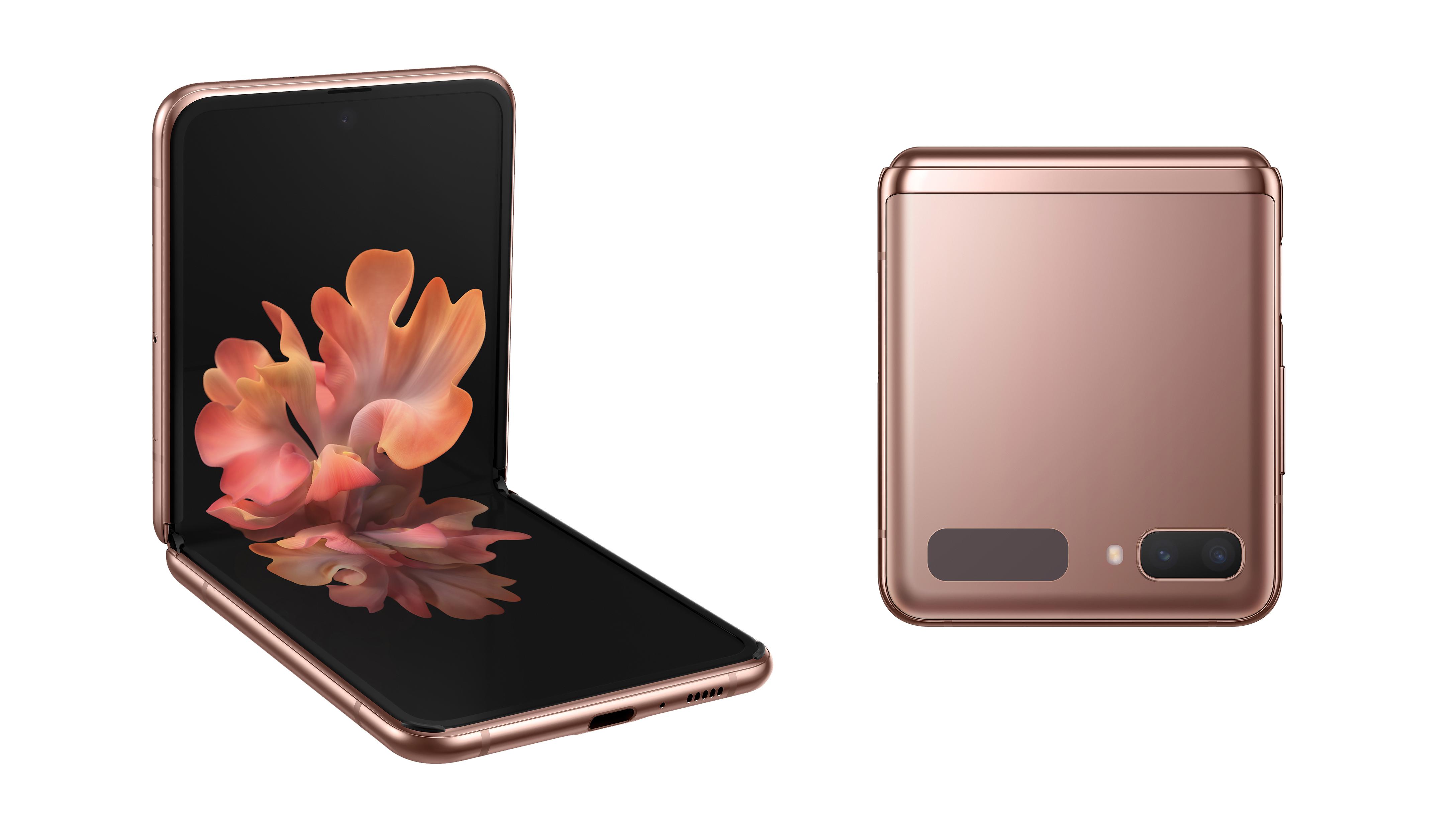 Samsung Galaxy Z Flip 5G bronze