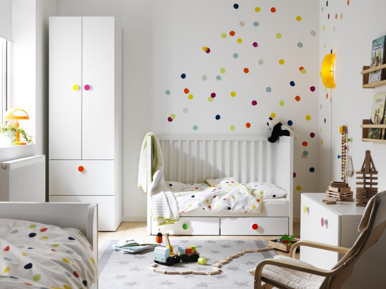 Nursery room ideas: and child's bedroom by Ikea