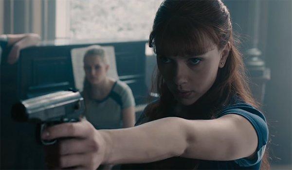 Natasha Romanoff training