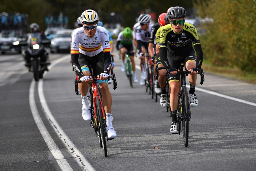 Mitchelton-Scott was again in the break at the Vuelta a España