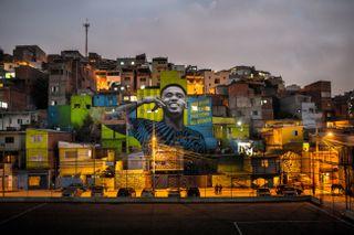 Gabriel Jesus mural