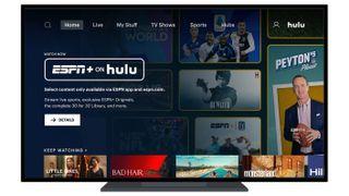 ESPN Plus on Hulu app