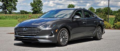 2020 Hyundai Sonata Hybrid review