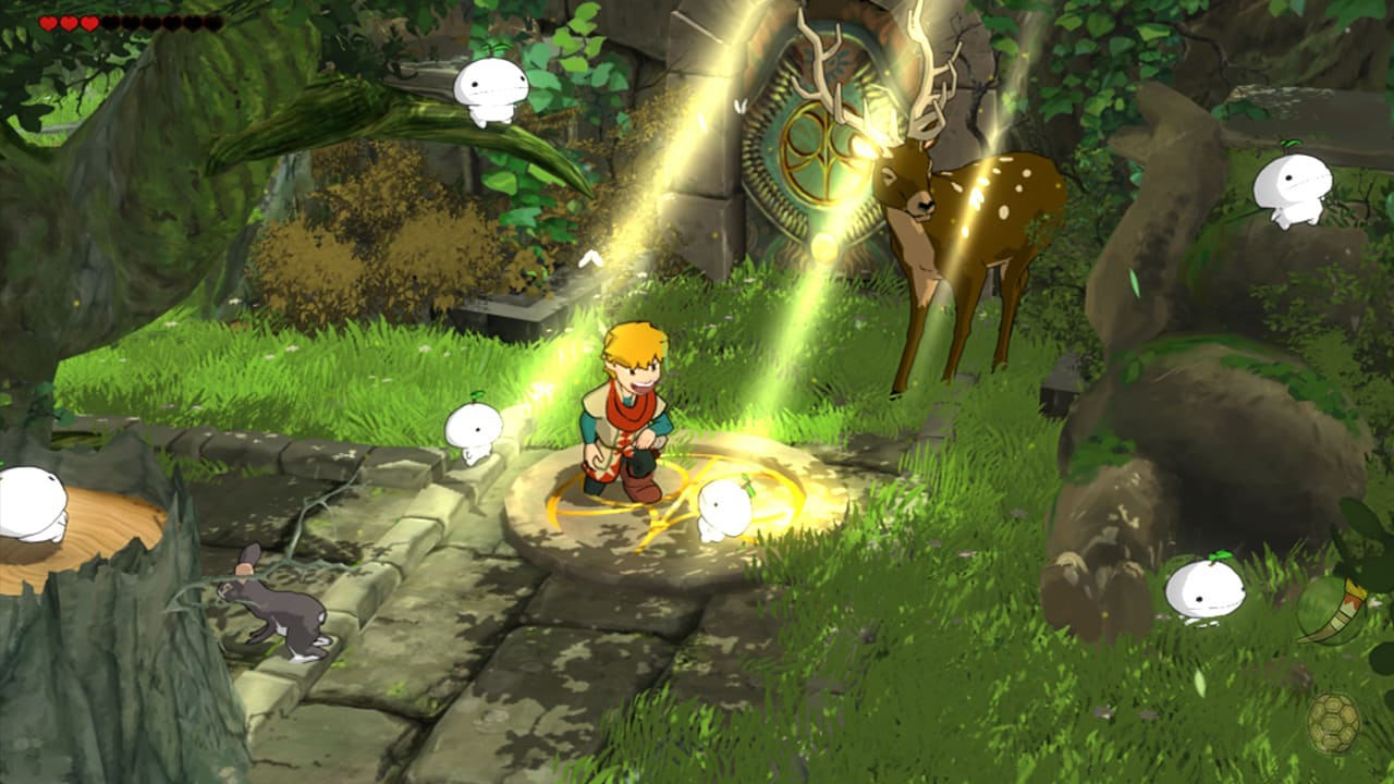 Adventure game Baldo: The Guardian Owls