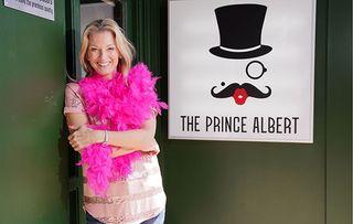 Kathy Beale opens Prince Albert in EastEnders