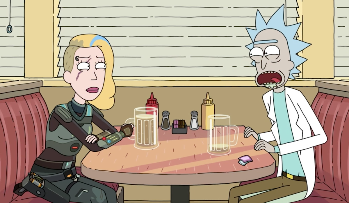 rick and defiance beth rick and morty finale