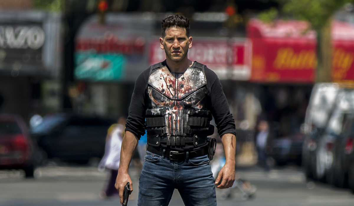 the punisher bloody