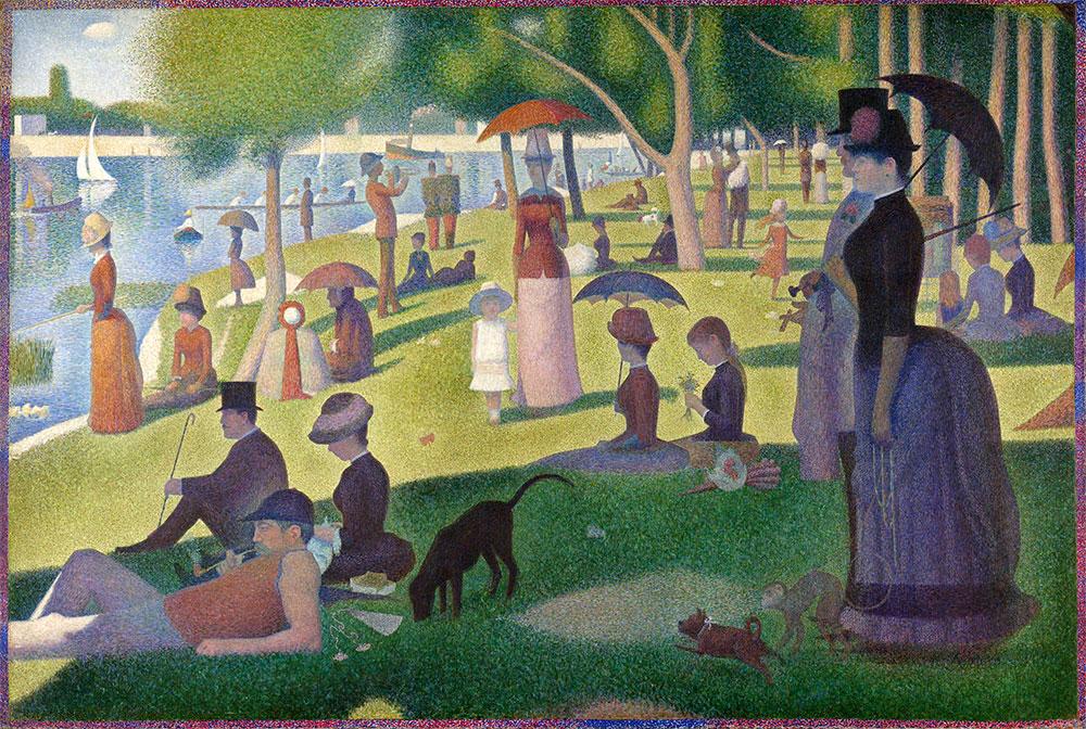 Pointillism: 20 inspiring examples | The Blog Pros