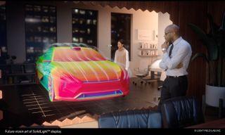 SolidLight, the highest resolution holographic display platform