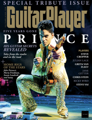 The cover of Guitar Player's July 2021 issue