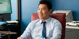 Simu Liu in Kim's Convenience
