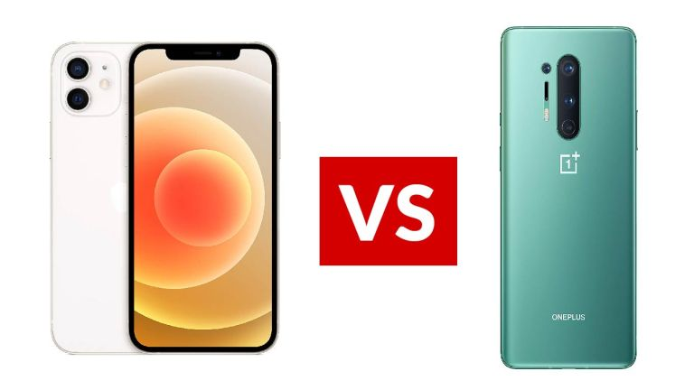 Apple iPhone 12 vs OnePlus 8 Pro
