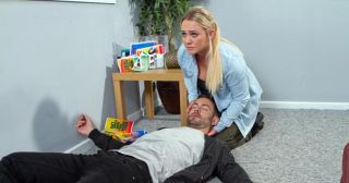 Cameron Moore plays Cameron Campbell in Hollyoaks