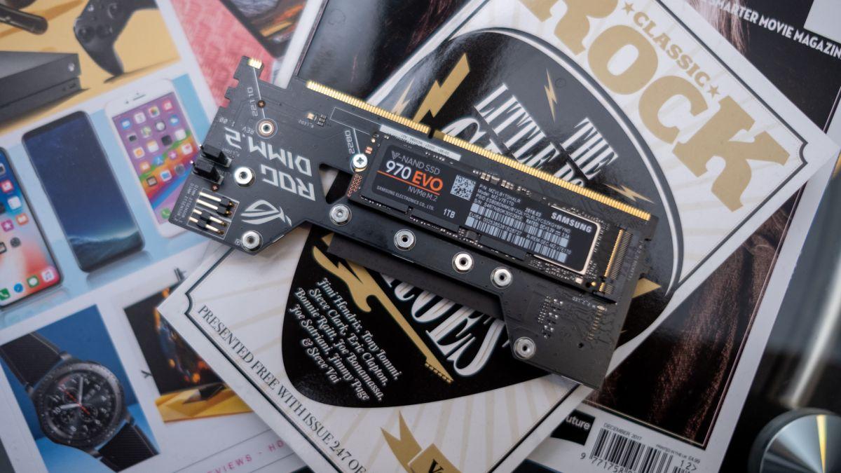 Samsung 970 Evo Review Techradar Ssd 960 Nvme M2 250gb