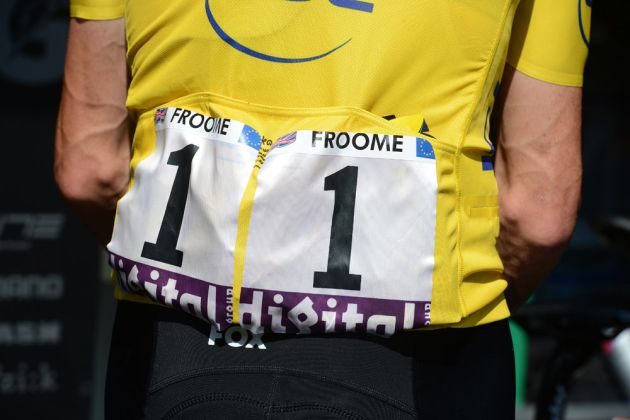 Chris Froome, Tour de France 2013, stage nine