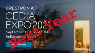 Crestron Pulls Out of CEDIA Expo 2021