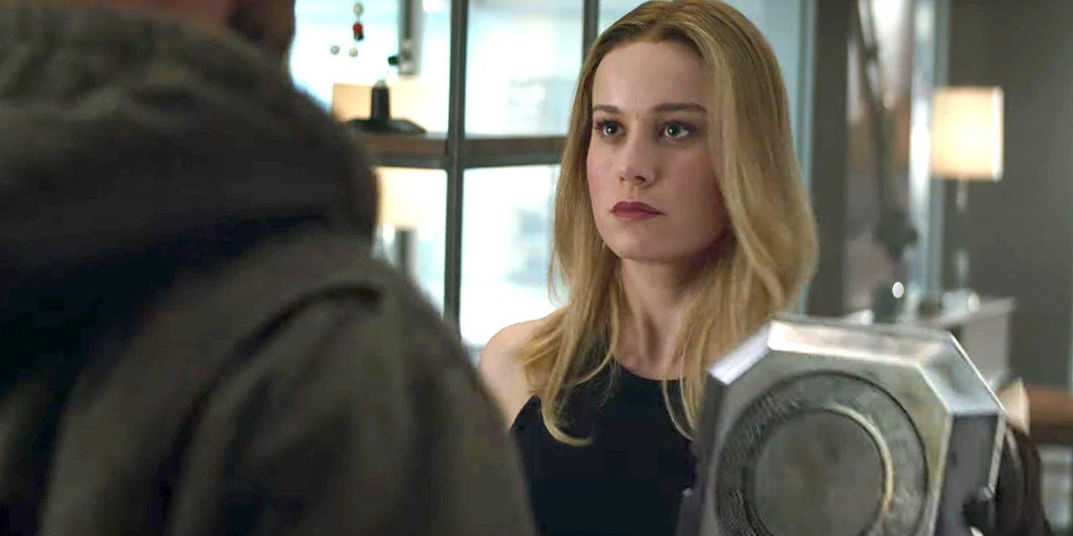 Thor and Captain Marvel Avengers: Endgame Marvel Studios