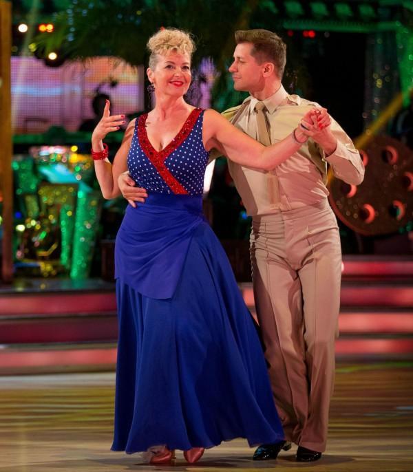 Carol Kirkwood and Pasha Kovalev