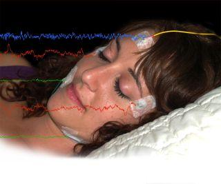 electrode sleeping