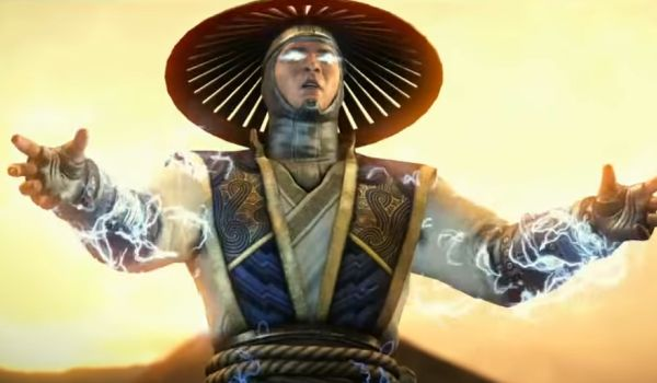 Raiden in Mortal Kombat X in shazam