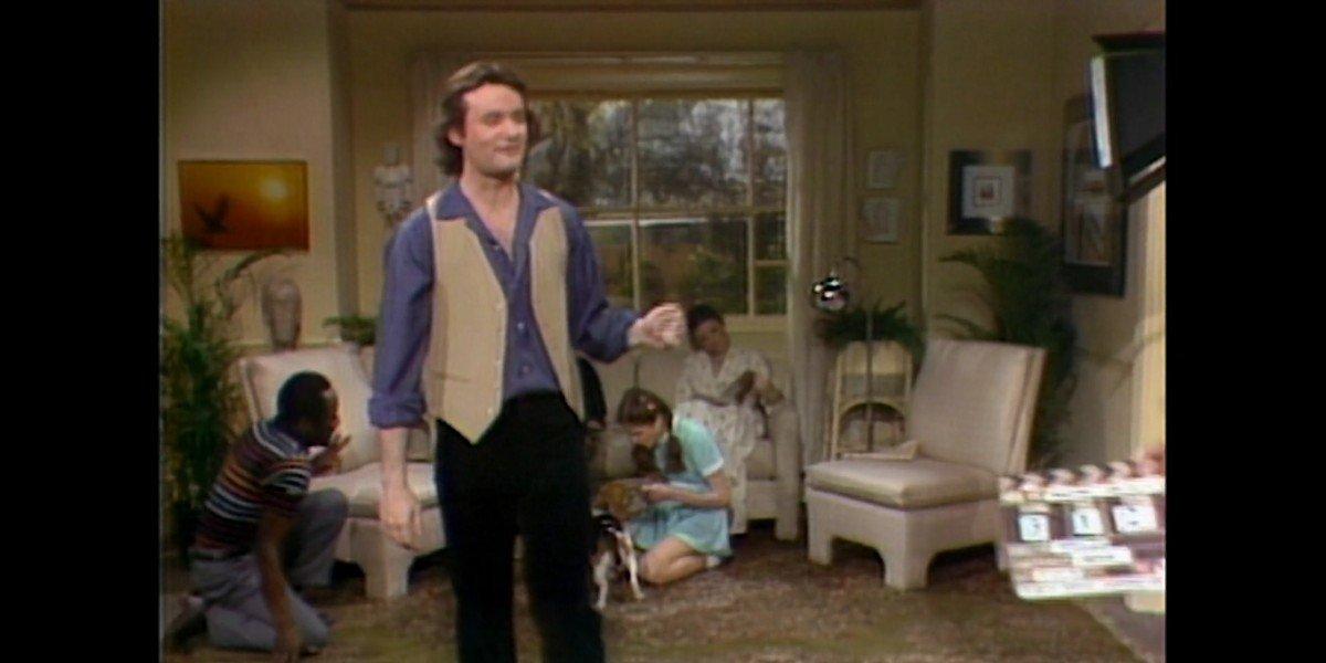 Bill Murray in SNL's Stunt Puppy Skit