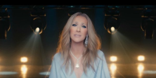 Celine Dion in the video