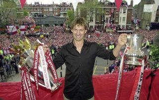 Arsenal Celebrate the Double