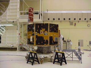 IMAGE satellite before launch