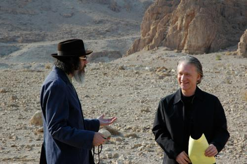 Religulous - director Larry Charles & comedian Bill Maher