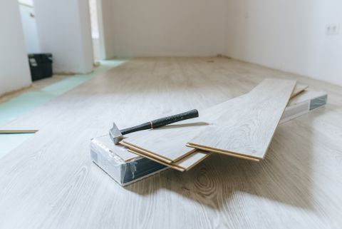 How To Install Laminate Flooring, How To Prep Concrete Floor For Laminate Flooring