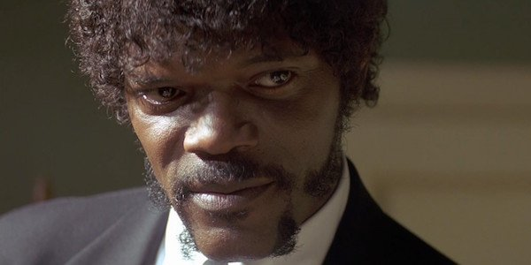 Samuel L. Jackson as Jules in Quentin Tarantino's Pulp Fiction