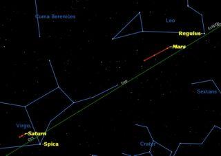 Long winter nights constellations sky map.