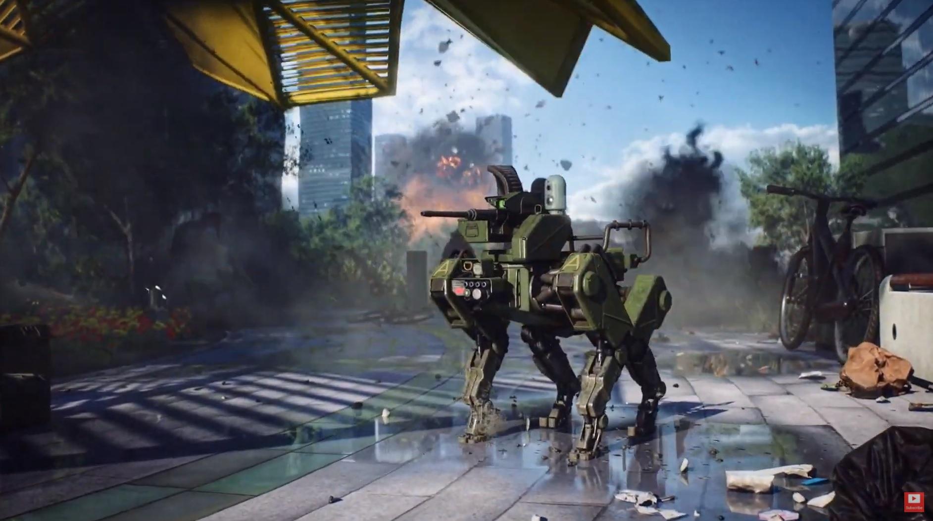 Battlefield 6 robot dog