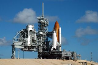 Clouds Aside, Shuttle Atlantis Set for Wednesday Launch