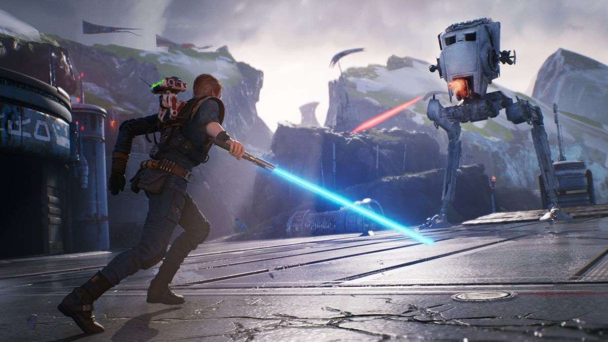 This Star Wars Jedi: Fallen Order gameplay was secretly shown off at E3 but you can watch all 10 minutes now